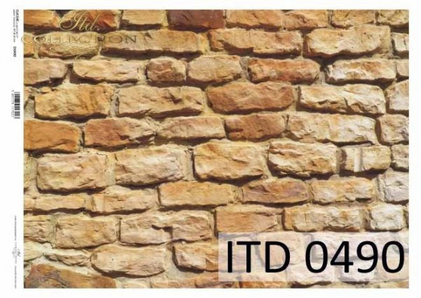 Papier decoupage ITD D0490M