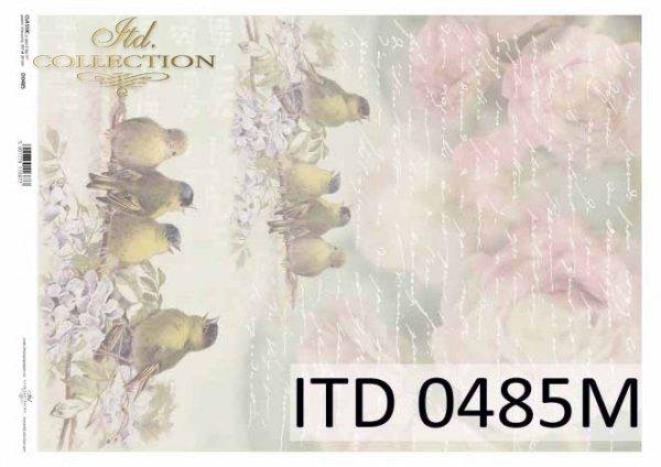 Papier decoupage ITD D0485M