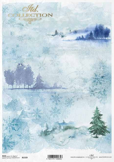 Papel decoupage de vacaciones, starlets, copos de nieve*Holiday Decoupage Papier, Sternchen, Schneeflocken*Праздничная бумага для декупажа, звездочки, снежинки