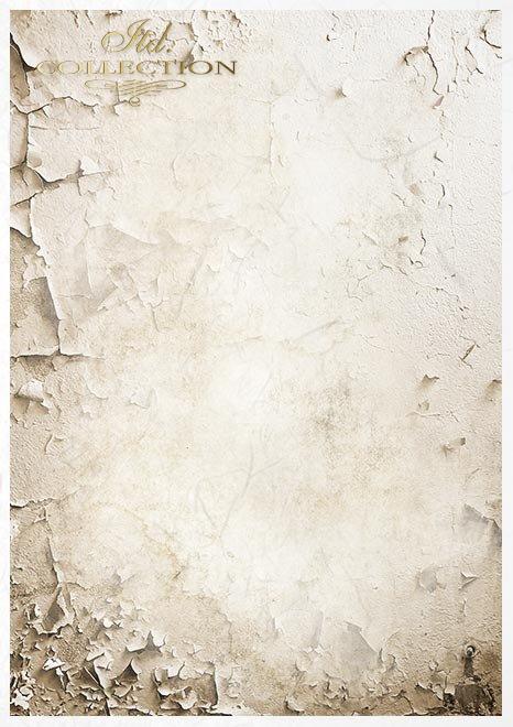 Zestaw kreatywny na papierze ryżowym Lato w kolorze niebieskim * Creative set on rice paper summertime in blue