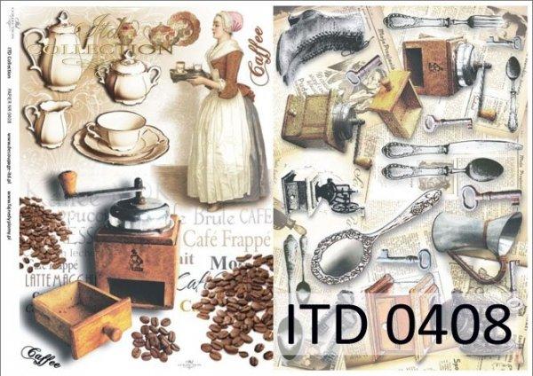 Papier decoupage ITD D0408