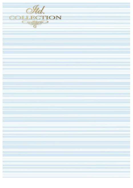 SCRAP-041 ''blue dreams'' scrapbooking papers set * zestaw papierów do scrapbooking 6