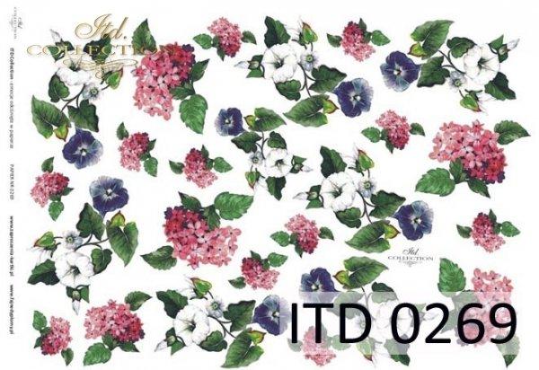 Papier decoupage ITD D0269