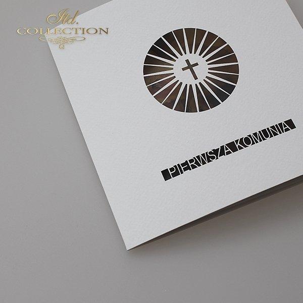 Zaproszenia  na Komunię Świętą 1731_022_żonkil