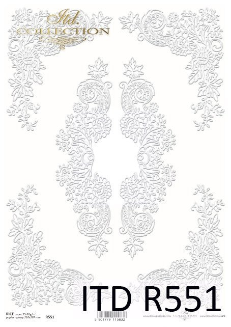 Papier ryżowy ITD R0551