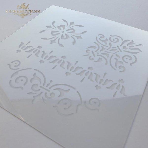 ST0024 - dekory, szlaczki, ornamenty