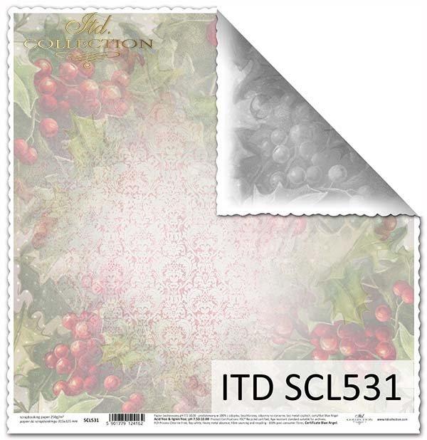 Papier scrapbooking SCL531