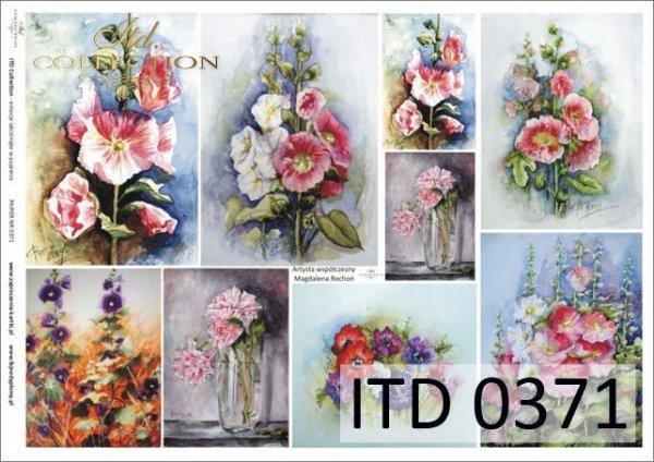 Papier decoupage ITD D0371M