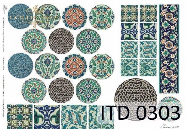 Papier decoupage ITD D0303M