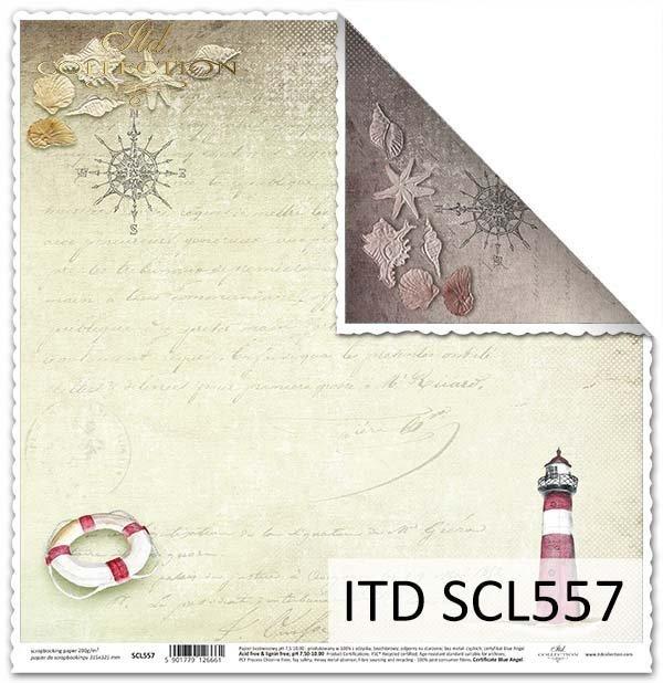 Papier scrapbooking SCL557