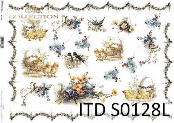 Papier decoupage soft S0128L
