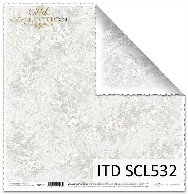 Papier scrapbooking SCL532