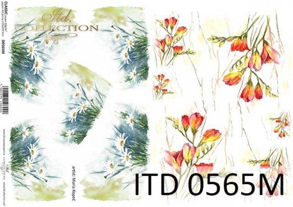 Papier decoupage ITD D0565M