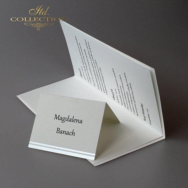Zaproszenia ślubne / zaproszenie 2001