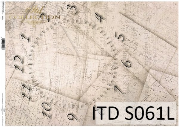 Papier decoupage SOFT ITD S0061L