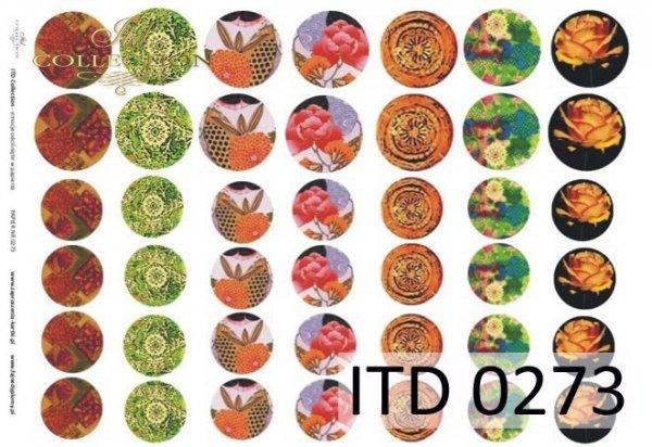 Papier decoupage ITD D0273