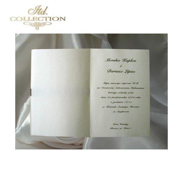 Zaproszenia ślubne / zaproszenie 1328