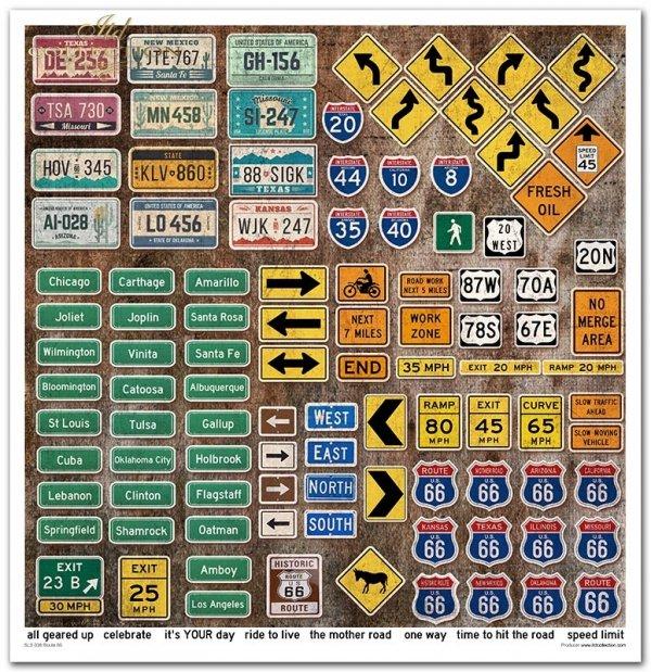Seria Legendary Route 66*Series Legendary Route 66*Legendäre Route 66*La legendaria Ruta 66