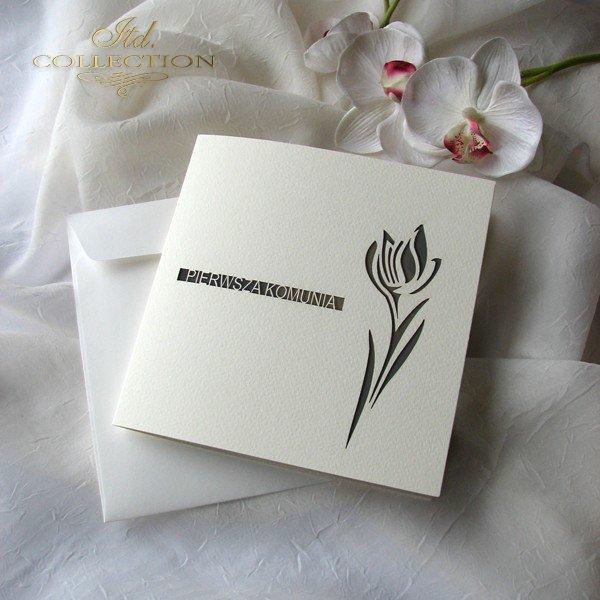 Zaproszenie komunijne 1732_006_tulipan