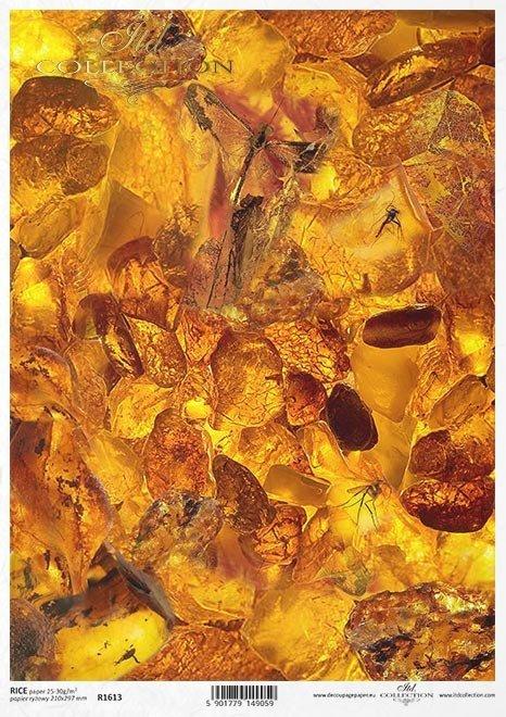 Mini zestaw - Zanurzone w bursztynie * Mini set - Submerged in amber