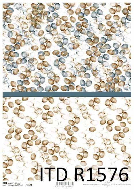 Papier decoupage świąteczny, wielkanocne jajka, tła, tapety*Decoupage paper festive, easter eggs, backgrounds, wallpapers