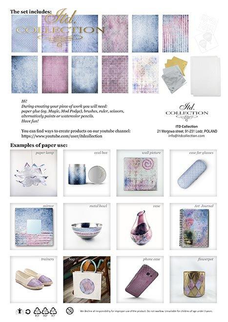 Zestaw-kreatywny-na-papierze-ryżowym-Cztery-Żywioły-Powietrze*Set-creative-on-rice-paper-Four-Elements-Air