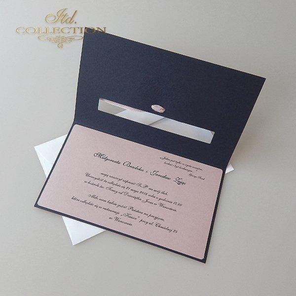 Zaproszenia ślubne / zaproszenie 2009