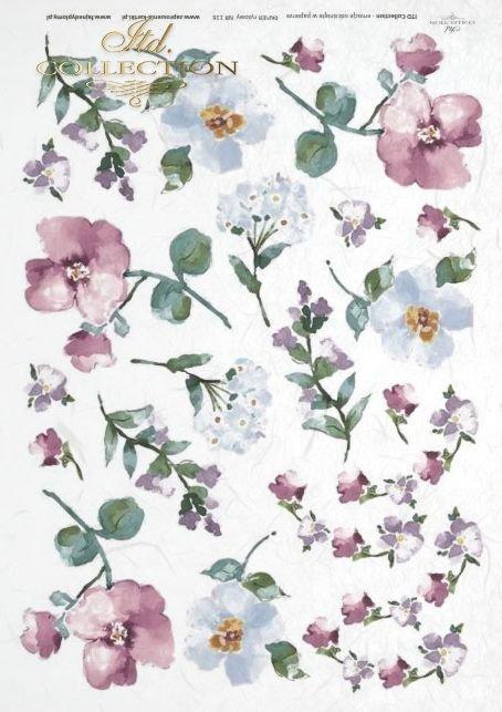 rice-paper-decoupage--akwarela-kwiatki-kwiaty-łąka-ogród-R0116