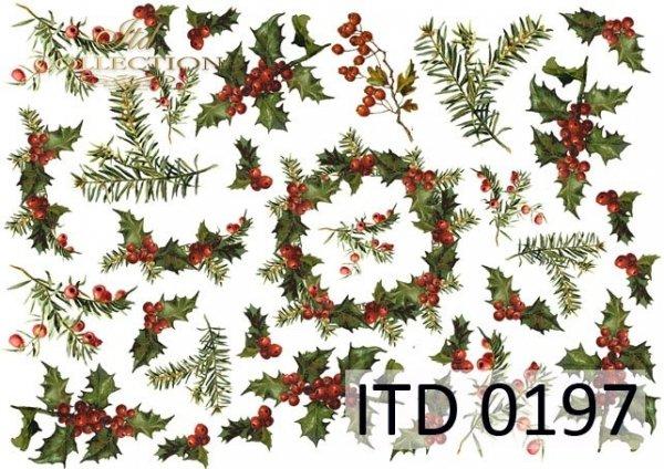 Papier decoupage ITD D0197M