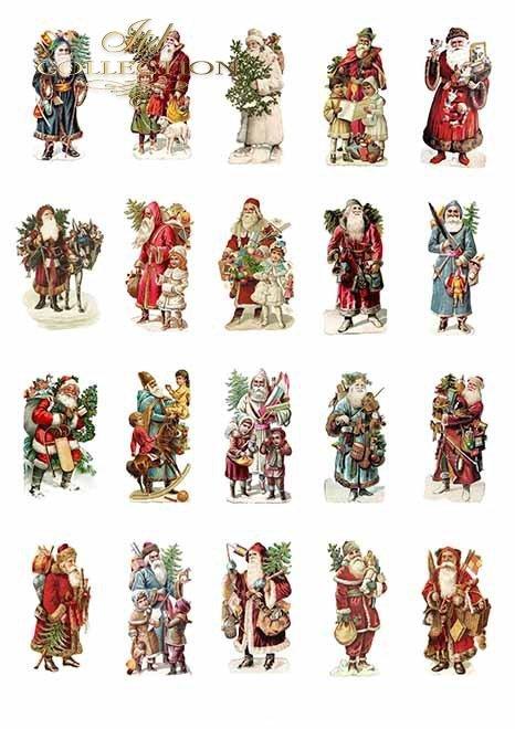 Papiery do scrapbookingu w zestawach - Wesołych Świąt*Papers for scrapbooking in sets - Merry Christmas