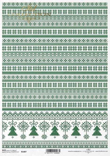 decoupage papel, decoraciones, árboles de navidad*Decoupage Papier, Dekore, Weihnachtsbäume*бумага для декупажа, декоры, елки
