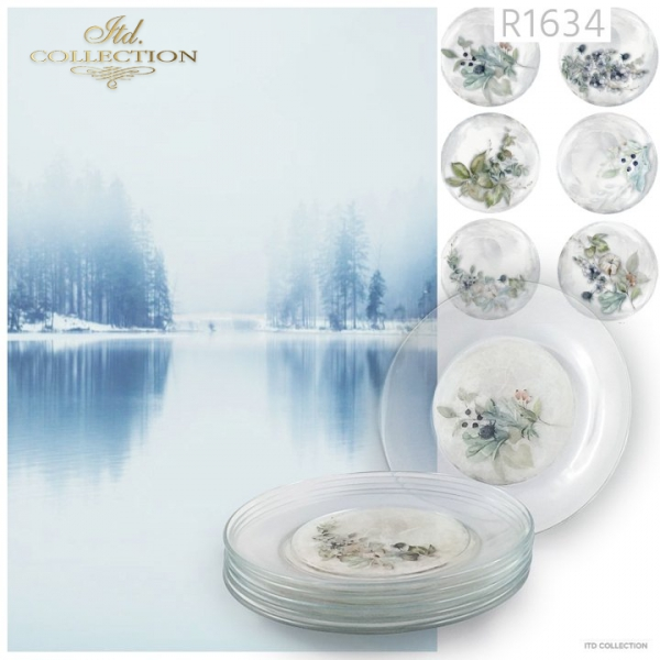 Papier ryżowy - Kraina lodowej porcelany * Rice paper - The land of ice porcelain 2