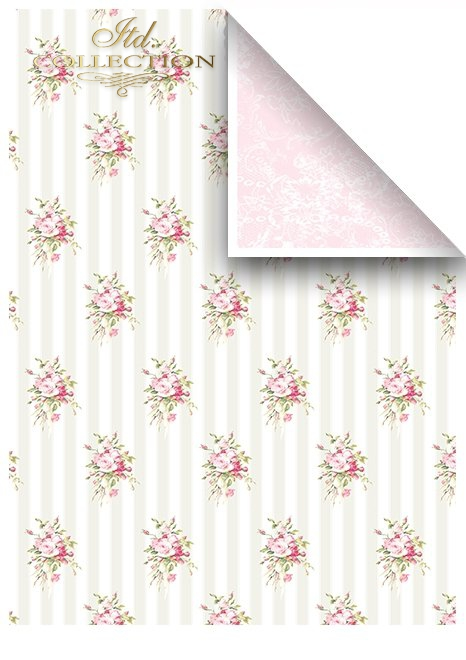 SCRAP-041 'pink dreams' scrapbooking papers set * zestaw papierów do scrapbooking 7