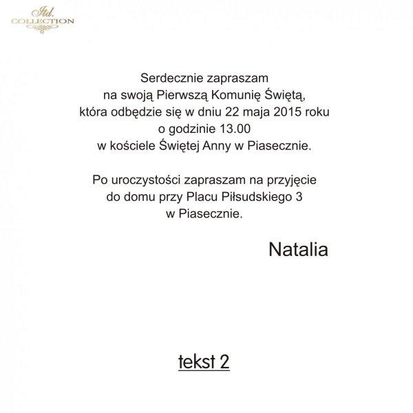 Tekst na komunię - TK2