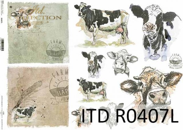 Papier ryżowy ITD R0407L