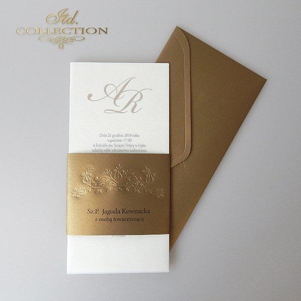 Zaproszenia ślubne / zaproszenie 2043