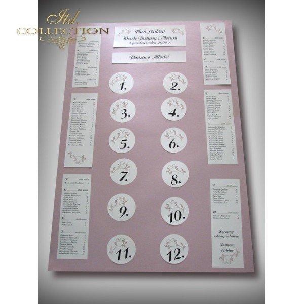 Plan stołów PS1457
