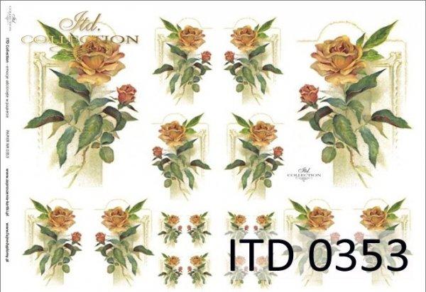 Papier decoupage ITD D0353M
