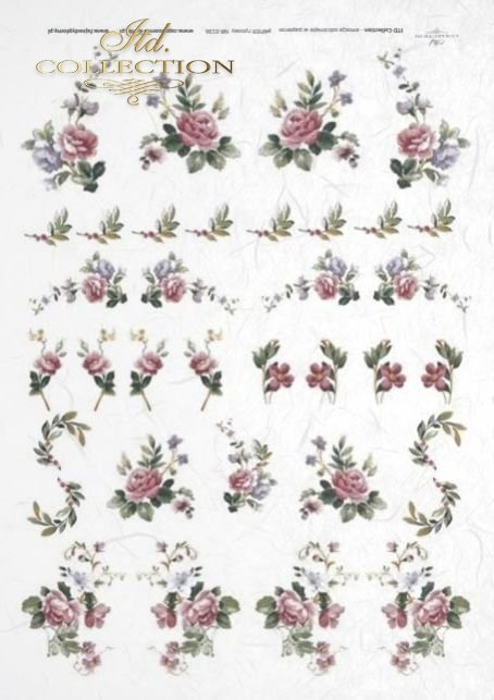 decoupage-rice-paper-flowers-buds-leaves-rose-roses-garden-R0136