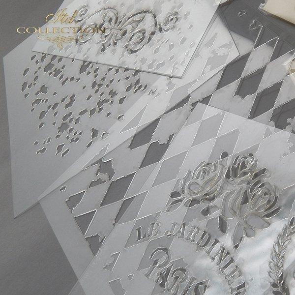 szablon - maska do scrapbookingu 16x16 cm ST0102A