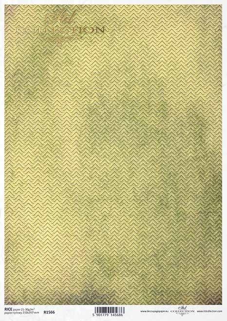 Fondo decoupage papel verde-amarillo*Decoupage Papier grün-gelben Hintergrund*Декупаж из бумаги зелено-желтый фон