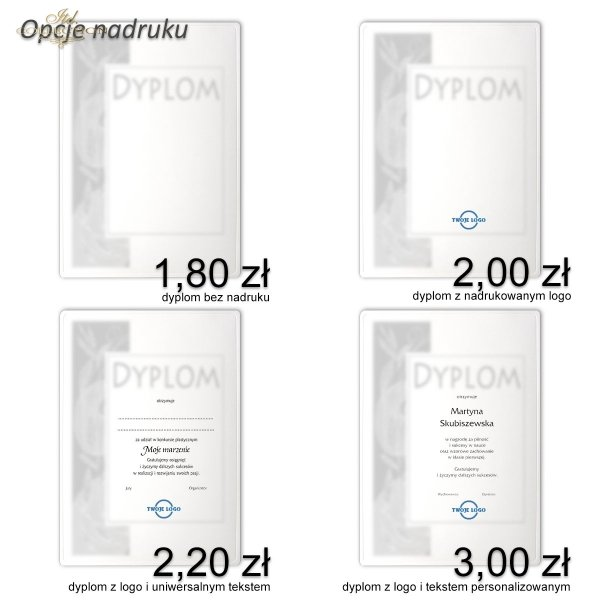 dyplom DS0600 - 2 x A5 format
