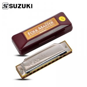 Suzuki Folk Master C - harmonijka ustna