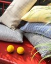 Żółta poduszka ogrodowa Lizbona 50x30