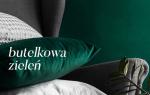 Elegancka i szlachetna: butelkowa zieleń we współczesnych wnętrzach.