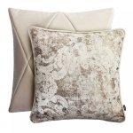 Kremowy zestaw poduszek dekoracyjnych Touch+Gold