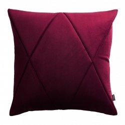 Touch poduszka dekoracyjna bordowa 45x45 MOODI