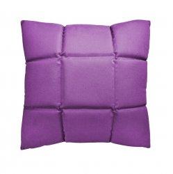 Trix duża poduszka dekoracyjna 50x50 cm. fioletowa MOODI