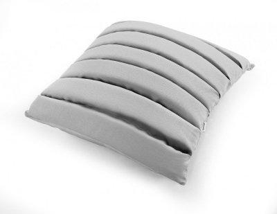 Level poduszka dekoracyjna MOODI 40x40 cm. jasno szara