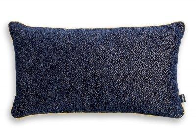 Alaska granatowa błyszcząca poduszka dekoracyjna 50x30